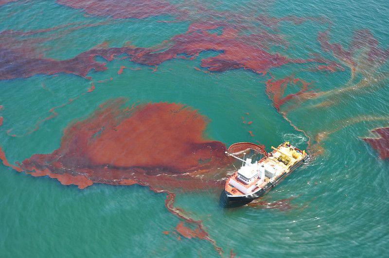 Massive oil spill from BP's Deepwater Horizon